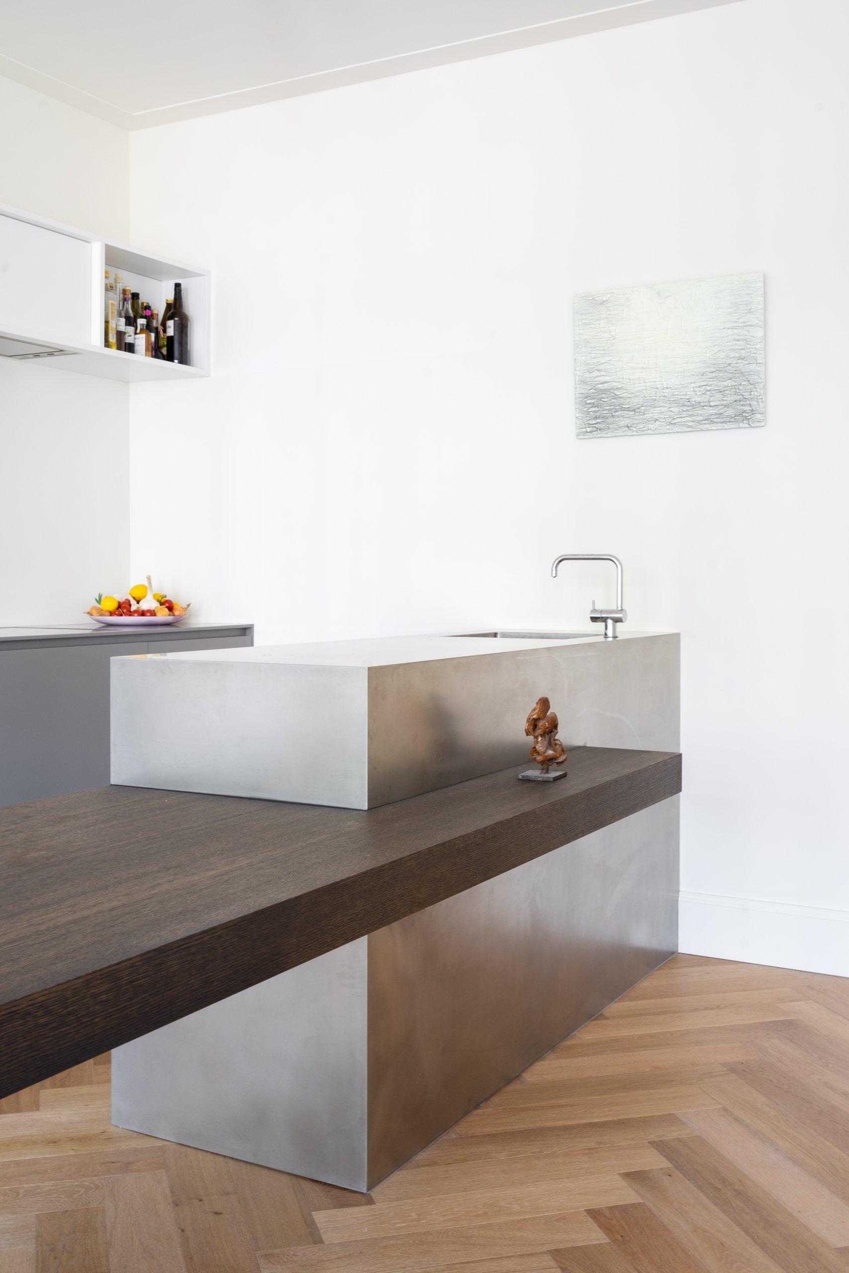 keuken rvs himacs